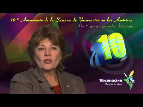 ASIATV100Net: Dra. Mirta Roses. Celebrando 10 Aos de la Semana de Vacunacin en las Amricas