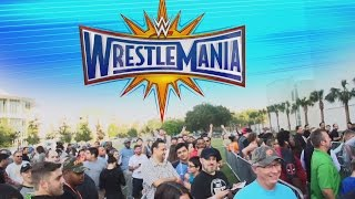 A special look at the WrestleMania 33 On-Sale Party in Orlando, Florida: Raw, Nov. 21, 2016