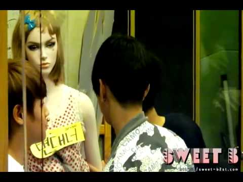 [FANCAM] 110520 BEAST Yoseob and Junhyung fight over mannequin @ Kiss The Radio