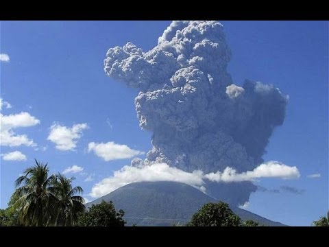 Chaparrastique Volcano Spills Smoke And Ash