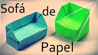 Origami koltuk, kanepe yapımı