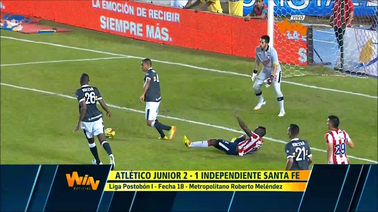 Atletico Junior Barranquilla 2-1 Independiente Santa Fe