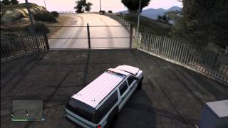 Grand Theft Auto 5 How To Find The Park Ranger SUV Truck