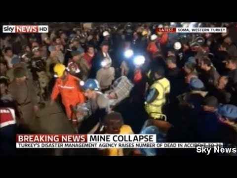 Mine Explosion, Fire In Turkey Kill Hundreds