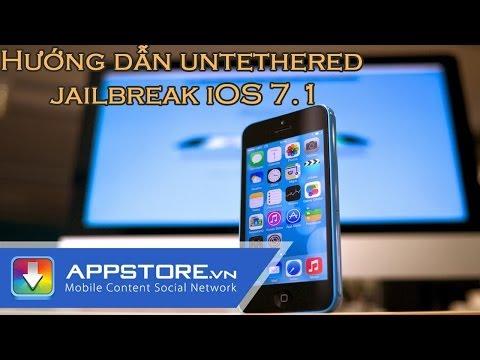 Hướng dẫn untethered jailbreak iOS 7.1 -- 7.1.1 cho iPhone, iPad, iPod Touch sử dụng Pangu (Windows)