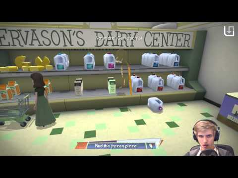 Octodad - Shopping without clothes :3 - Workshop