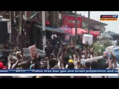 Nigeria Police Brutally Repress Polytechnic Students