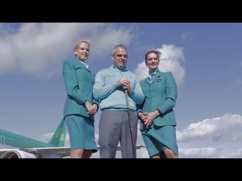 Paul McGinley, Aer Lingus Brand Ambassador