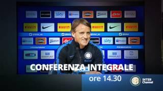SEGUI LA CONFERENZA STAMPA DI VIGILIA DI INTER- MILAN