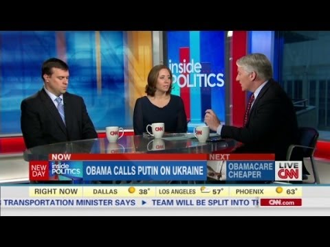 John King, Julie Pace and Jonathan Martin discuss President Obama\'s recent conversation with Vladimir Putin on Ukraine.