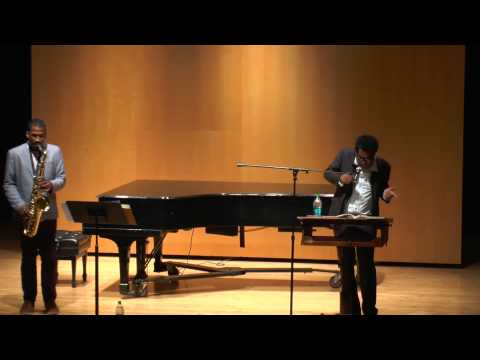 10:16:13 Suppression of Sound poet Thomas Sayer Ellis saxophonist James Brandon Lewis