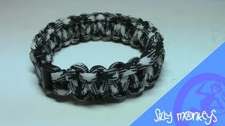 Paracord survival narukvica Cobra Knot (Silly Monkeys)