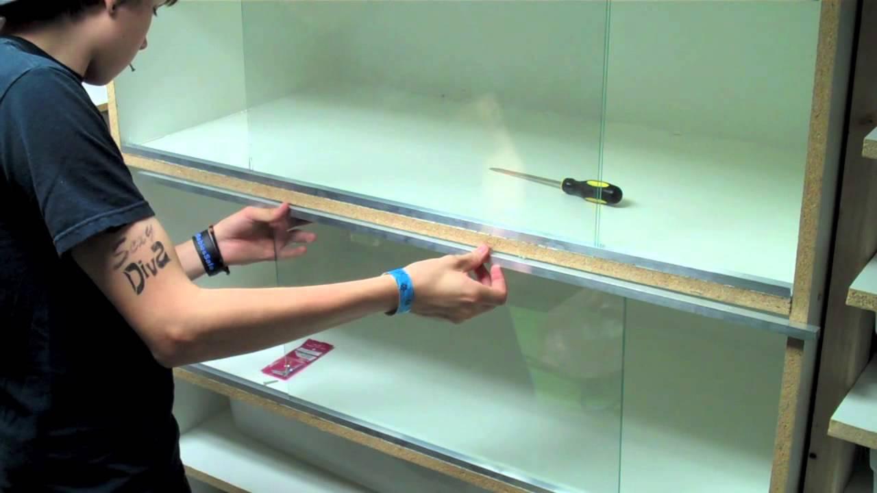 New Carpet Python Caging How To Make Sliding Glass Doors