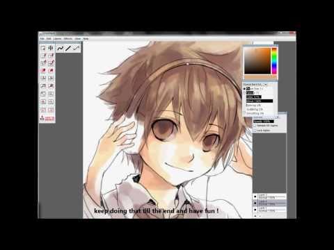 RMD tutorial - Anime / Manga Drawing Coloring Tutorial  【KHR : TSUNA 】