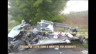 V�timas de trag�dia na BR-381 s�o veladas em S�o Sebasti�o do Maranh�o
