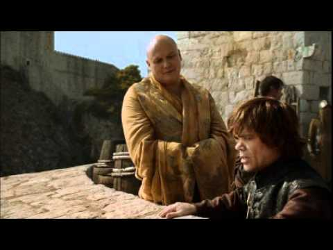 Tyrion and Varys speak the Game of Thrones.