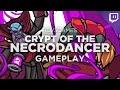 Nick Plays NECRODANCER (with Custom Music!)