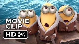 Minions Official Movie Clip #1 New York (2015