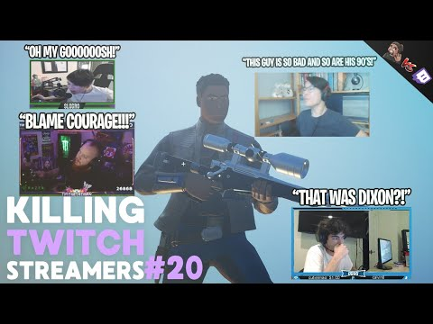 Killing Fortnite Twitch Streamers #20 (BEST REACTIONS OF THE SERIES *actually hilarious*)