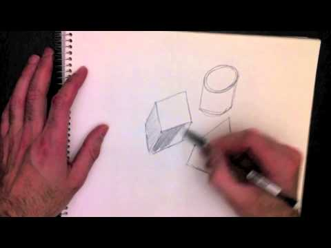 dessiner des formes 3d avec paolo morrone youtube. Black Bedroom Furniture Sets. Home Design Ideas