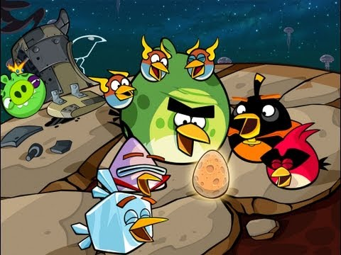 Angry Birds Space Pig Dipper Final Boss [HD],