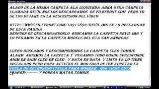 Tutorial De Como Instalar El Cleo Zombie Alarm En Gta San