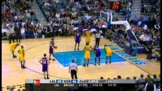 Kobe Bryant 50 Points Vs New Orleans Hornets (4th Straight