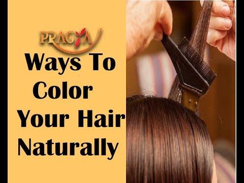 Ways To Color Your Hair Naturally | Dr. Payal Sinha (Naturopath Expert)