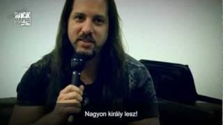 John Petrucci, a Dream Theater gitárosa is a Rock Napja mellé állt
