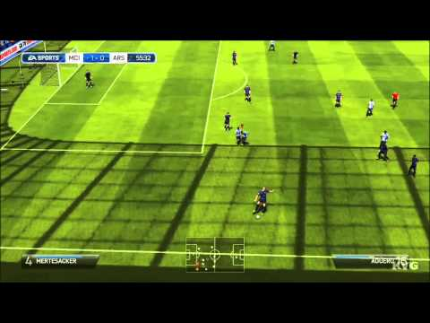 FIFA 14 - Manchester City FC vs. Arsenal FC Gameplay [HD]