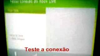 Conctando XBOX 360 Na Internet Via Wireless WiFi