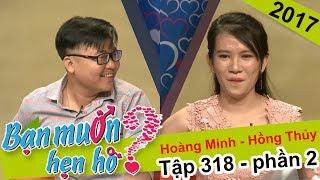 Ca cải lương để t� tình, chàng trai khiến cô gái 'cạn l�i' | Hoàng Minh - Hồng Thủy | BMHH 318 😂