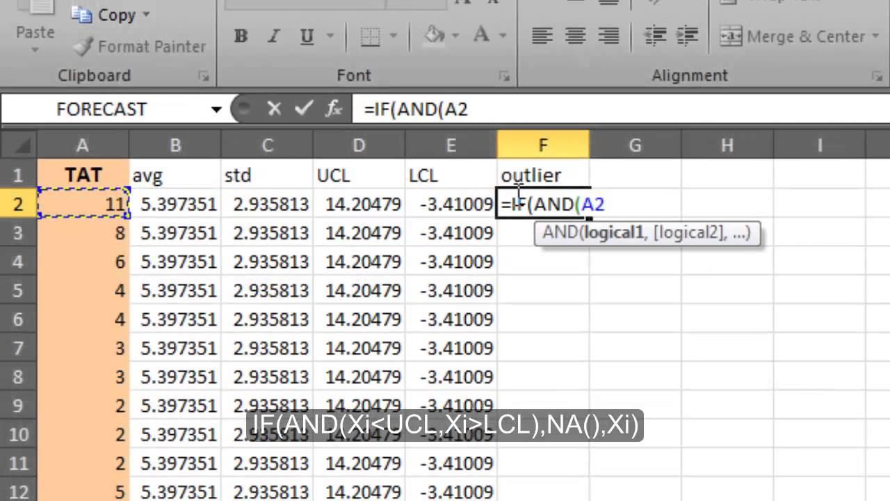 Create A Control Chart Youtube Mandegarfo