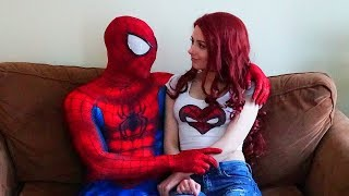 A Day In the Life Of Spiderman and Mary Jane (In Real Life)