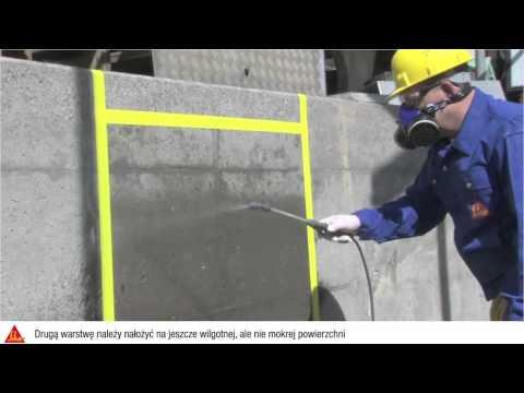 Sika - Zabezpieczenia powierzchni przed szkodliwym wnikaniem wody - Sikagard