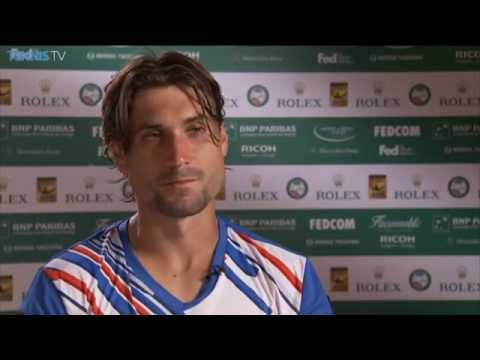 Monte-Carlo 2014 Friday Interview Ferrer