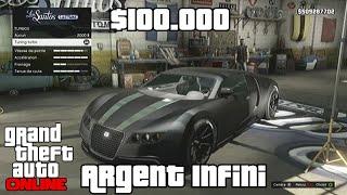 [1.17] GTA 5 Online Argent Infini 100000$ Toutes Les 20