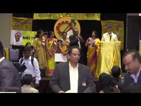CAA President Sundar Dittakavi's Speech & APDFNA Donation to SIlicon Andhra's Sanjivani Hospital, Kuchipudi, AP.  May 11th 2017