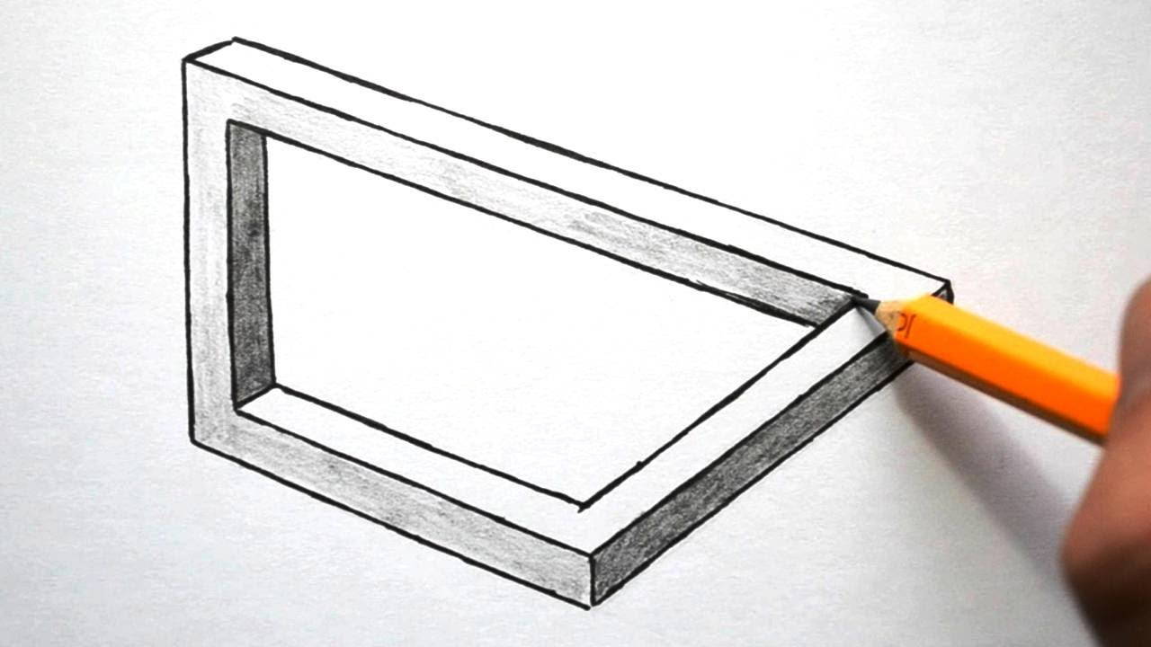 easy illusions to draw - photo #4