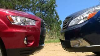 2010 Subaru Outback Vs Mitsubishi Outlander Off-road