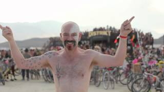 Burning Man 2014 : Let It Go From Frozen
