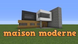 Minecraft maison de luxe moderne xem videos - Maison minecraft simple ...
