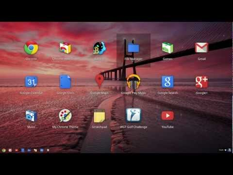 Chrome OS Guided Tour