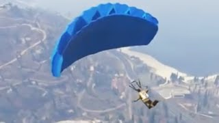 GTA V Parachute Location At The Beginning Of The Game