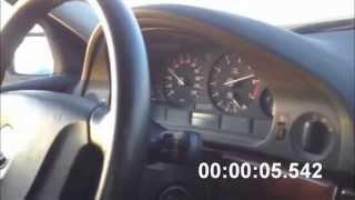 Разгон BMW 520i с двигателем M54B22 от 0-100 км/ч