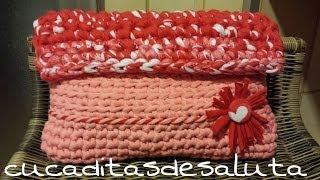 Bolso De Mano A Crochet !! TUTORIAL DIY ¡¡ TRAPILLO