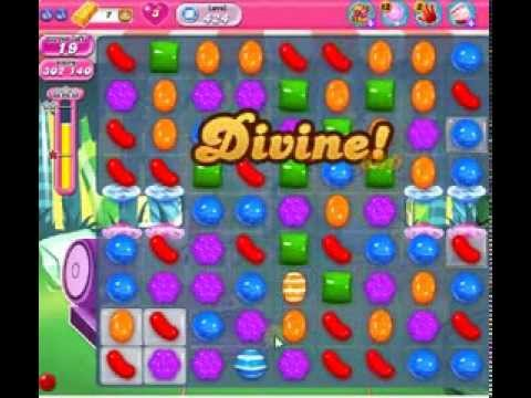 How to beat Candy Crush Saga Level 424 - 1 Stars - No Boosters - 344