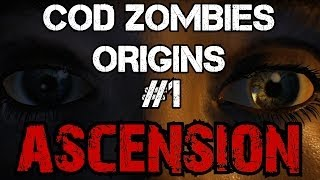 CoD Zombies Easter Egg Origins - Ascension: Step 1 - Teleport the Generator Using Gersch (Part 1)