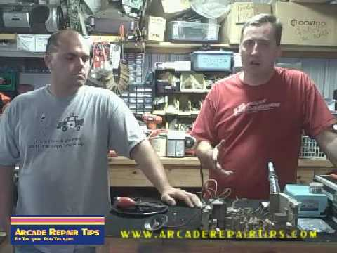 Arcade Repair Tips - Troubleshooting Monitors With Michael