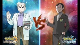 Pokemon Ultra Sun and Ultra Moon: Professor Oak Vs Giovanni